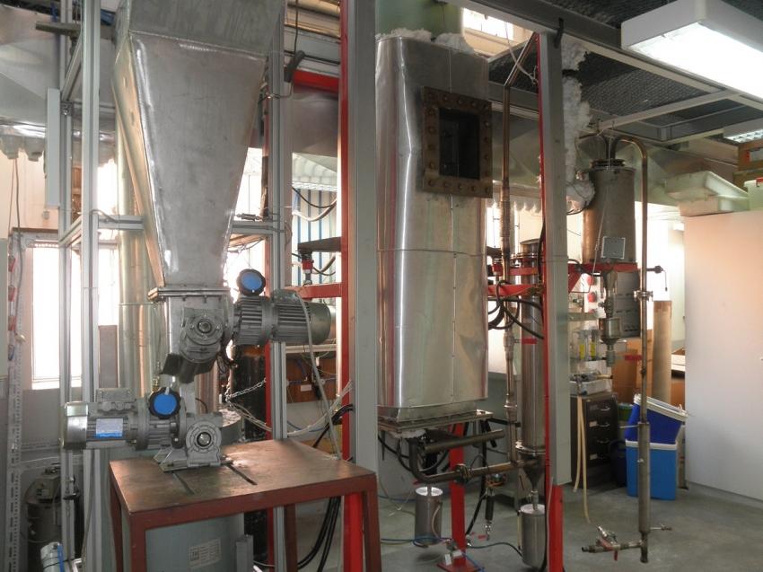 Gasificador de biomasa